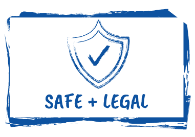 Safe + Legal